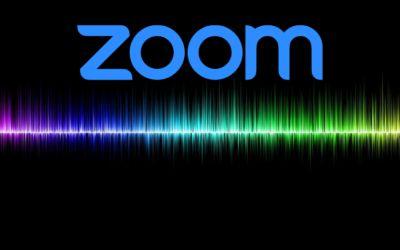Włączanie opcji zachowania oryginalnego dźwięku w Zoom