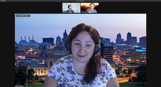 Zmiana układu wideo w Zoom - widok speakera i galerii